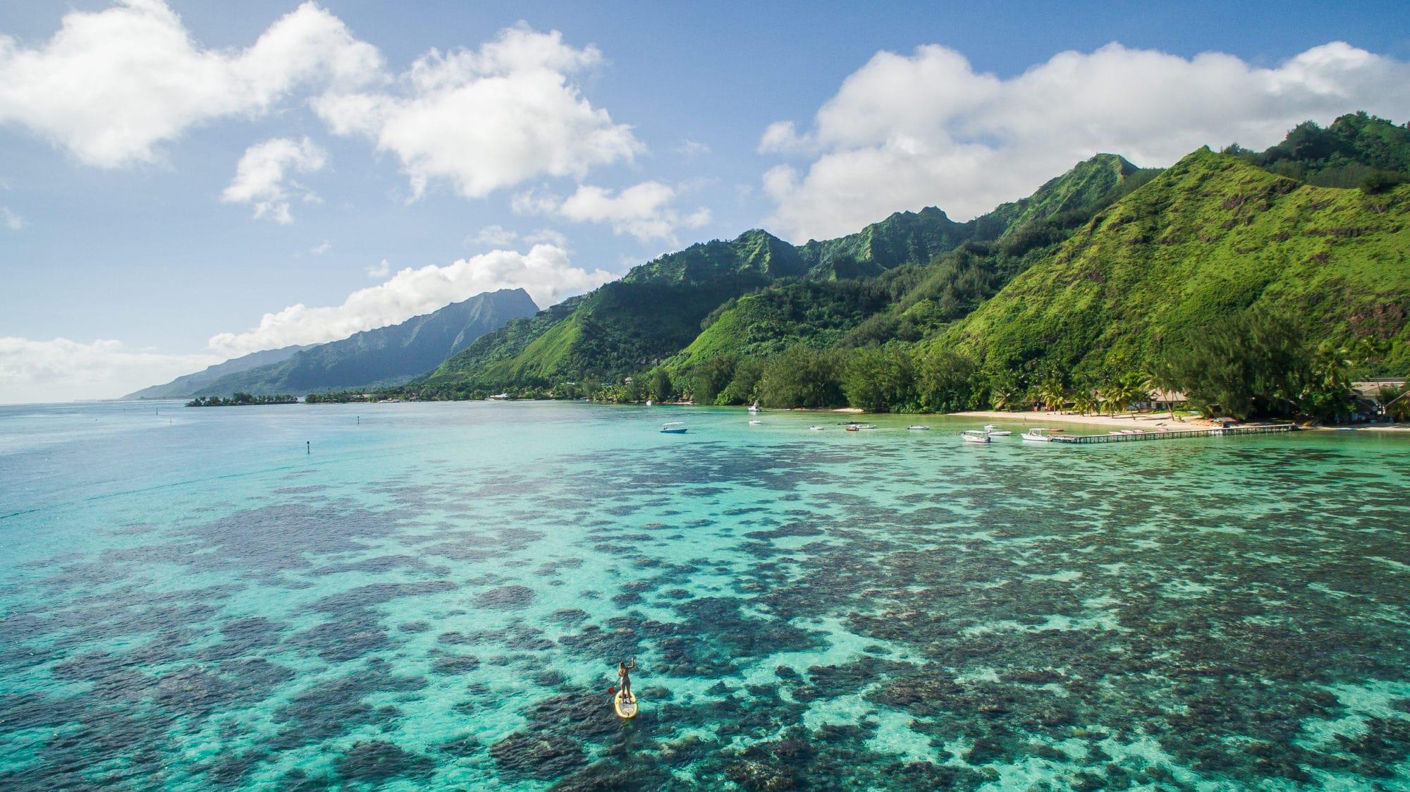 polyénsie, tahiti, moorea, turquoise, voyage à tahiti
