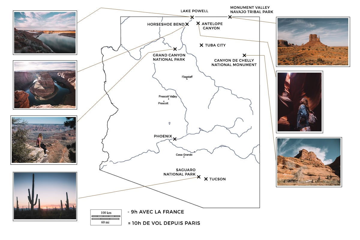 roadtrip en arizona-roadtrip ouest americain-visiter l'arizona-roadtrip de 8 jours en arizona