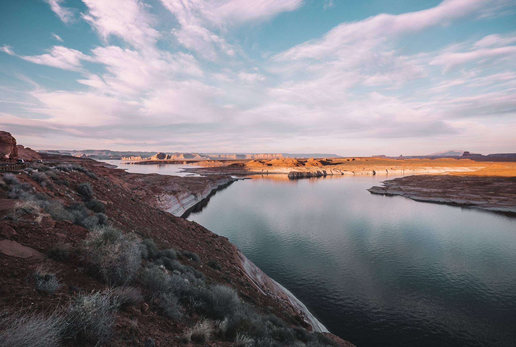 roadtrip en arizona-roadtrip ouest americain-visiter l'arizona-roadtrip de 8 jours en arizona-Lake Powell