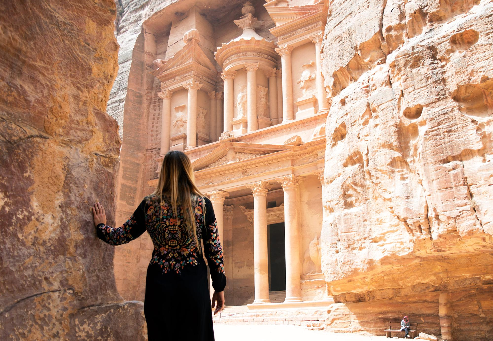 Image L'envoûtante Petra, Jordanie