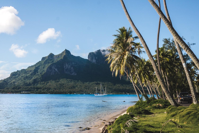 voyage a tahiti, bora bora, lagon, relief