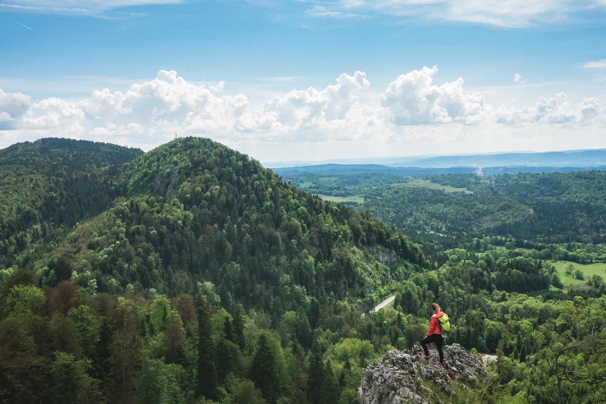 Montagnes du Jura, belvédère, lacs