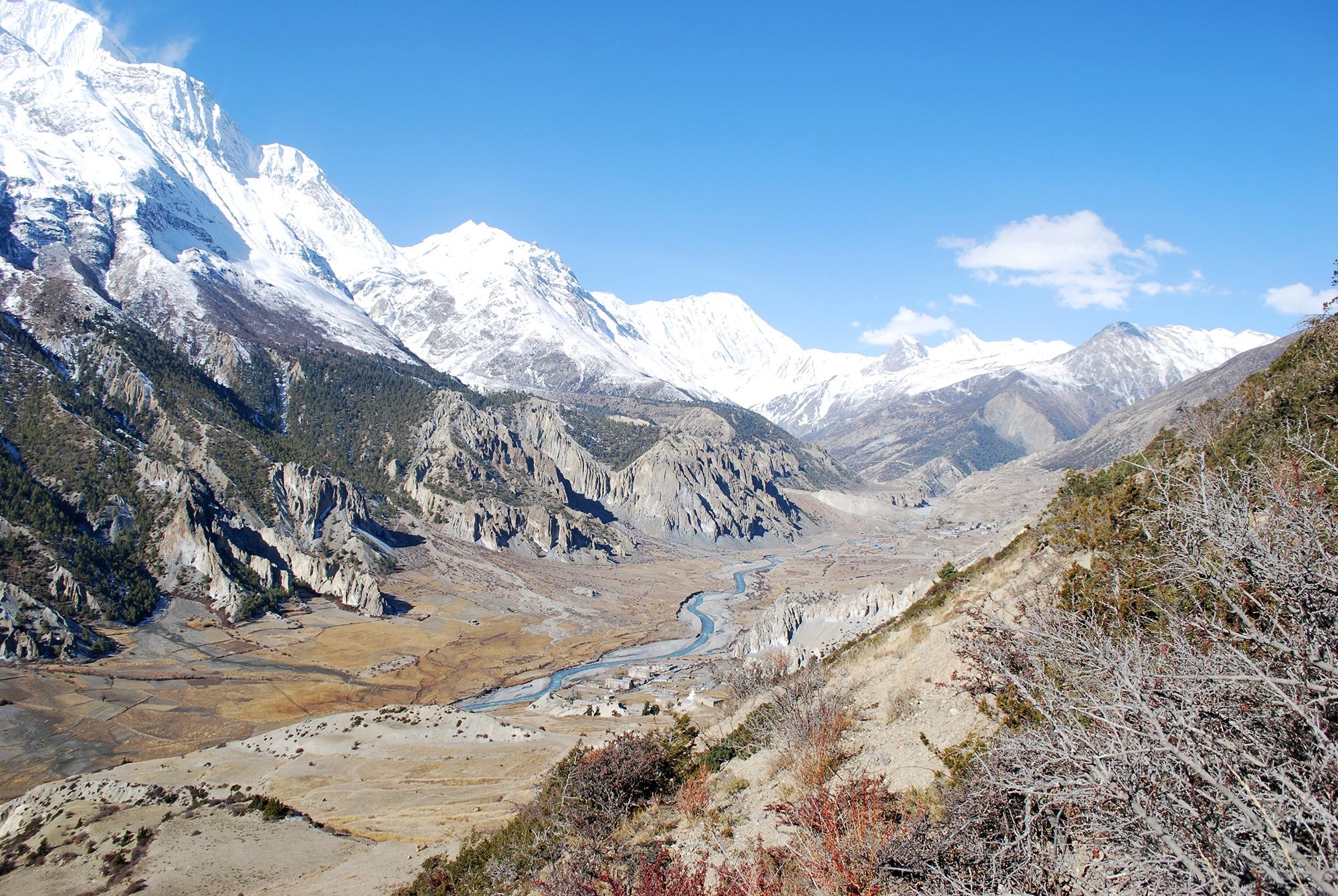 Image Népal • Trek du tour des Annapurnas