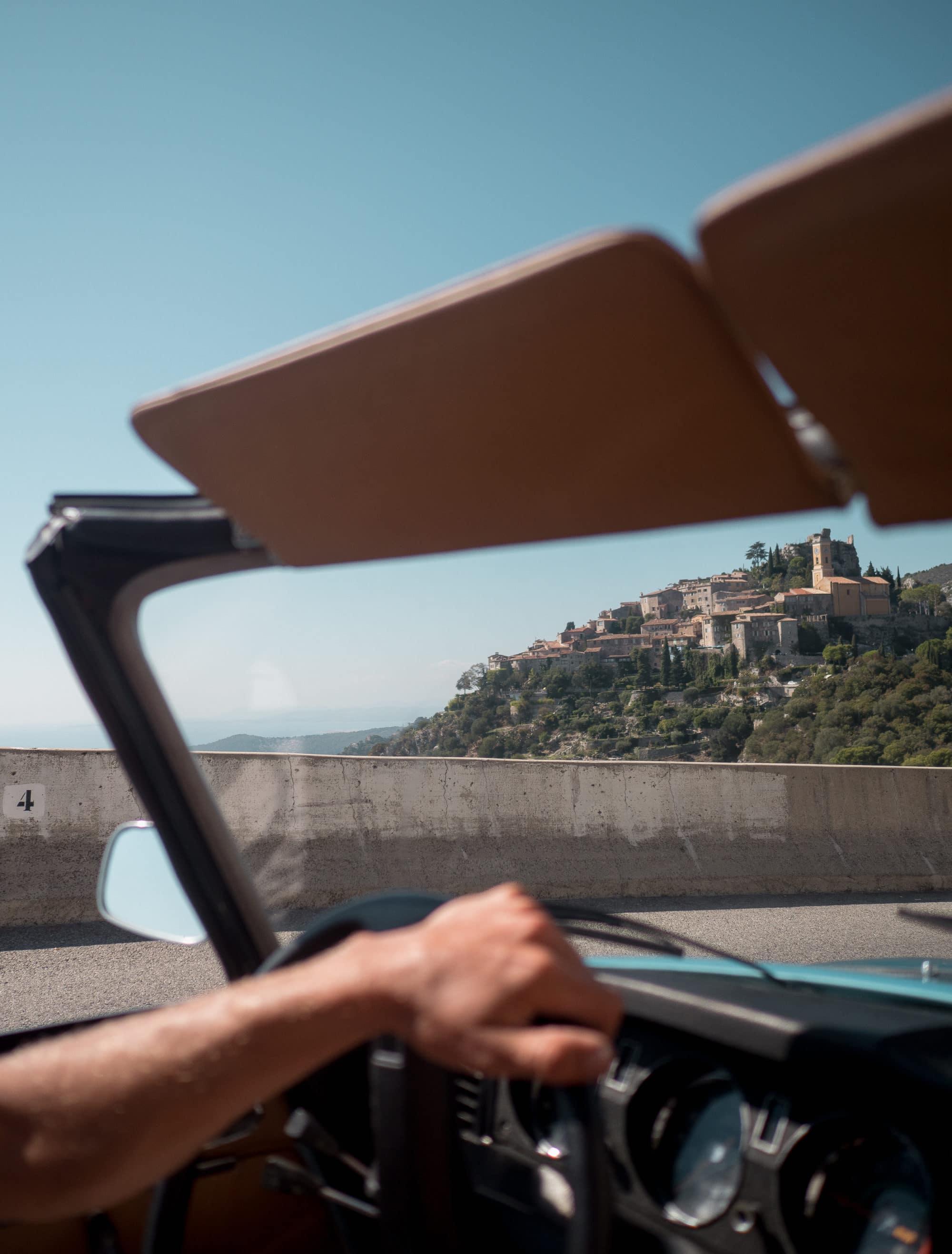 Cote d'Azur, Eze, village de france, sejour en france, authentique, que faire sur la cote d'azur