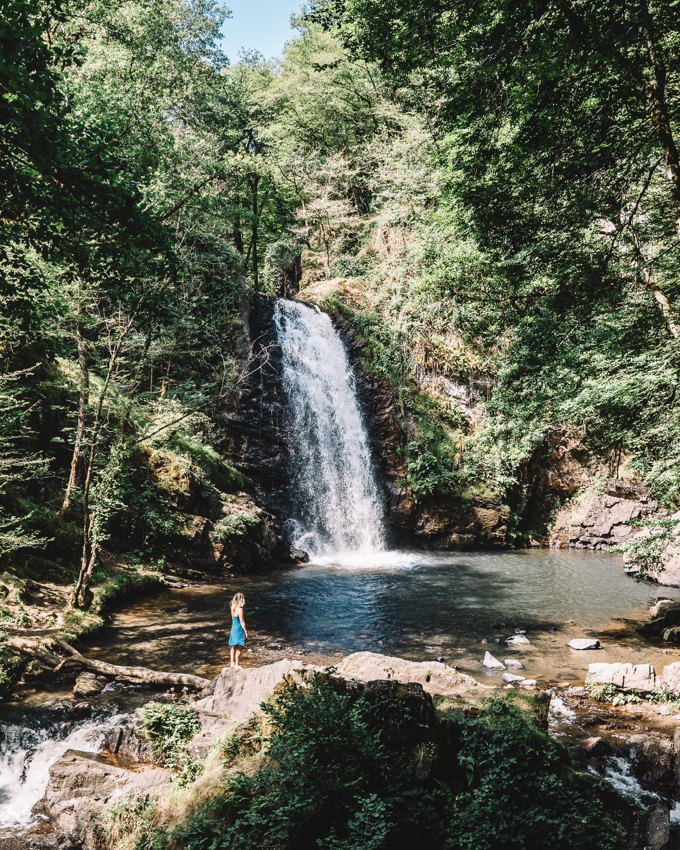 Correze-Que faire en correze-village de france-nature-hébergement-cascades de murel